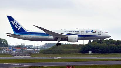 JA878A - ANA - All Nippon Airways Boeing 787-8 Dreamliner