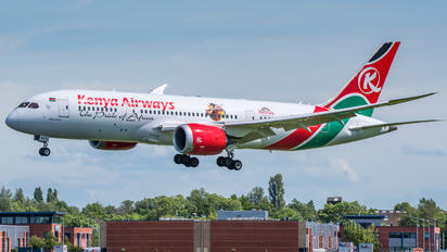 5Y-KZG - Kenya Airways Boeing 787-8 Dreamliner