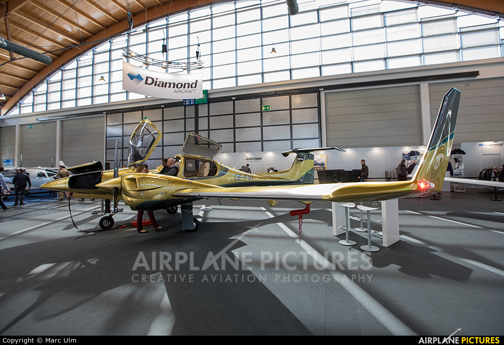 Private OE-FVI aircraft at Friedrichshafen