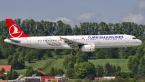 TC-JRI - Turkish Airlines Airbus A321 aircraft