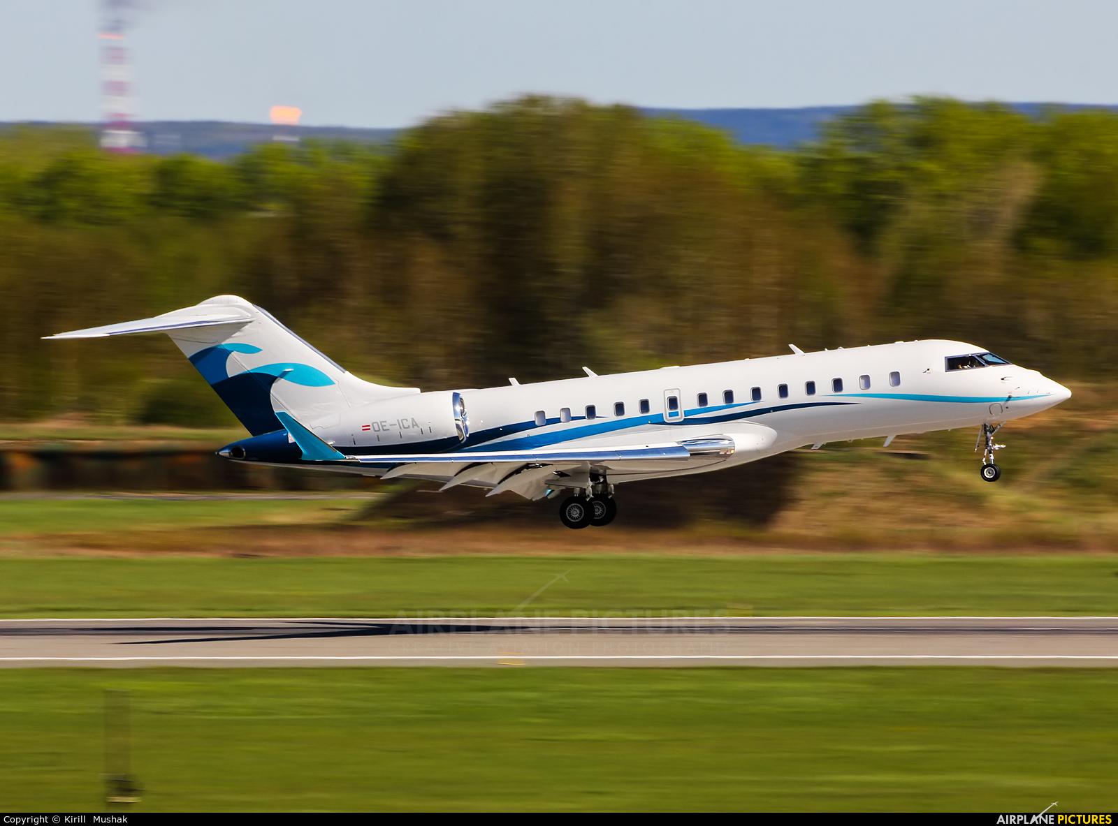Avcon Jet OE-ICA aircraft at Bolshoe Savino - Perm
