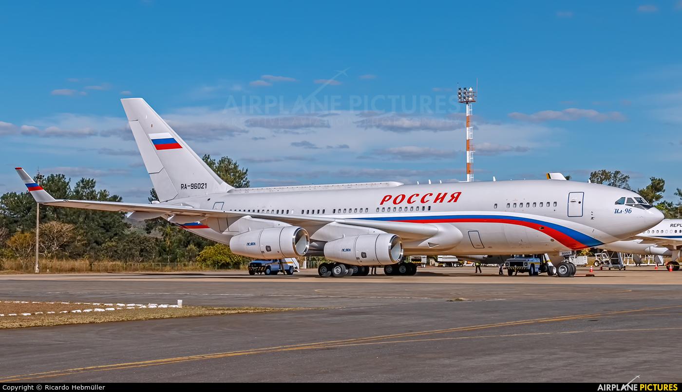 Rossiya RA-96021 aircraft at Brasília - Presidente Juscelino Kubitschek Intl