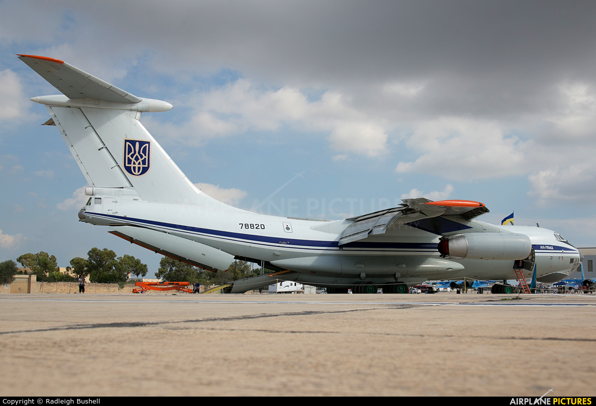 Ukraine - Air Force 78820 aircraft at Malta Intl
