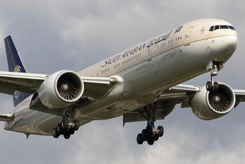 HZ-AK17 - Saudi Arabian Airlines Boeing 777-300ER