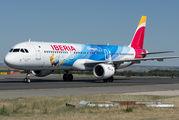 EC-JZM - Iberia Airbus A321 aircraft