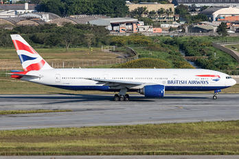 G-YMMK - British Airways Boeing 777-200