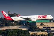 PR-XTC - TAM Airbus A350-900 aircraft