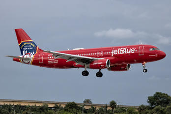 N615JB - JetBlue Airways Airbus A320