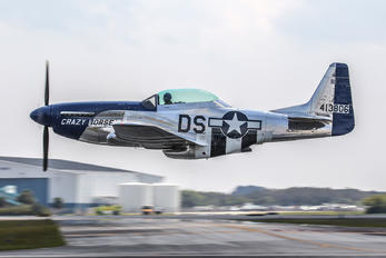 NL351DT - Private North American TF-51D Mustang