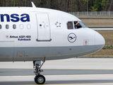 D-AIRL - Lufthansa Airbus A321 aircraft