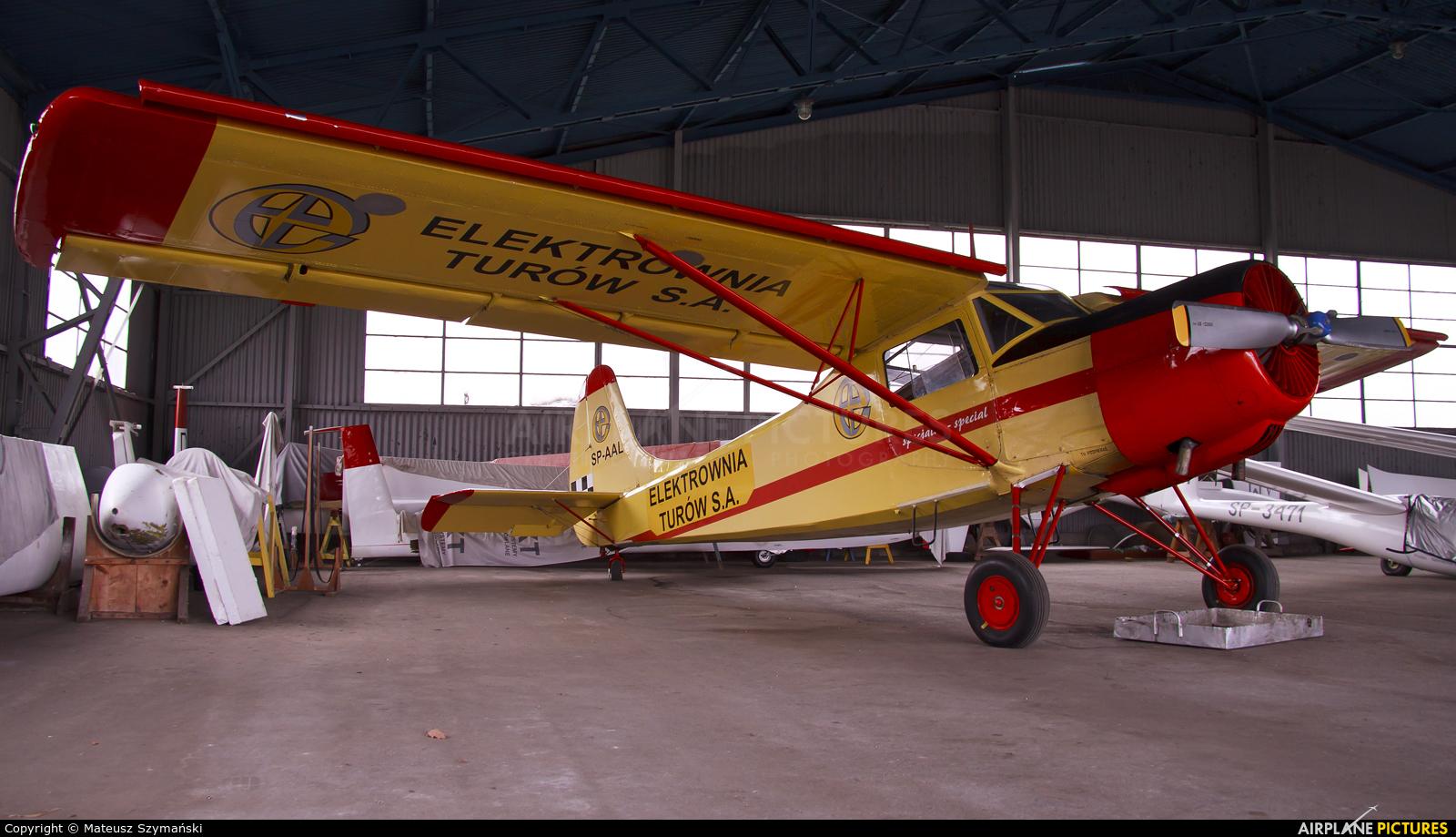 Aeroklub Jeleniogorski SP-AAL aircraft at Jelenia Góra