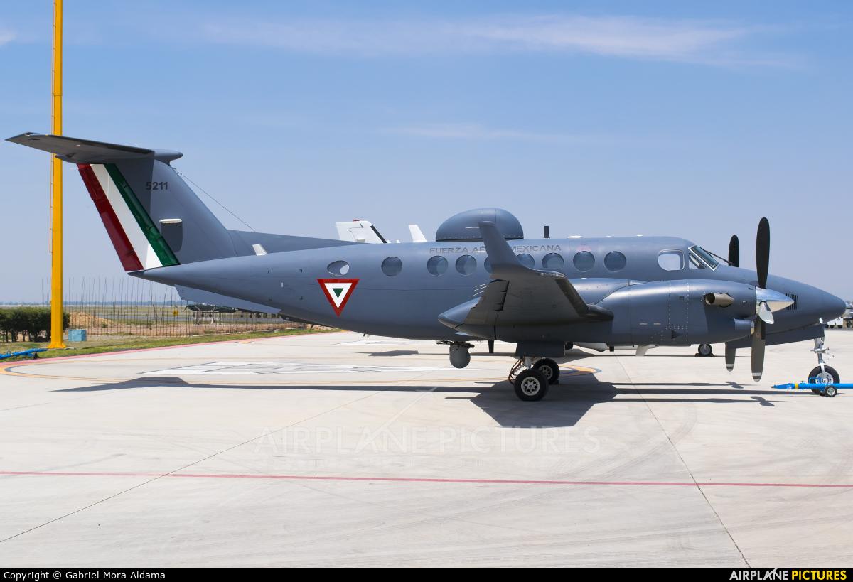 Mexico - Air Force 5211 aircraft at Santa Lucia AB