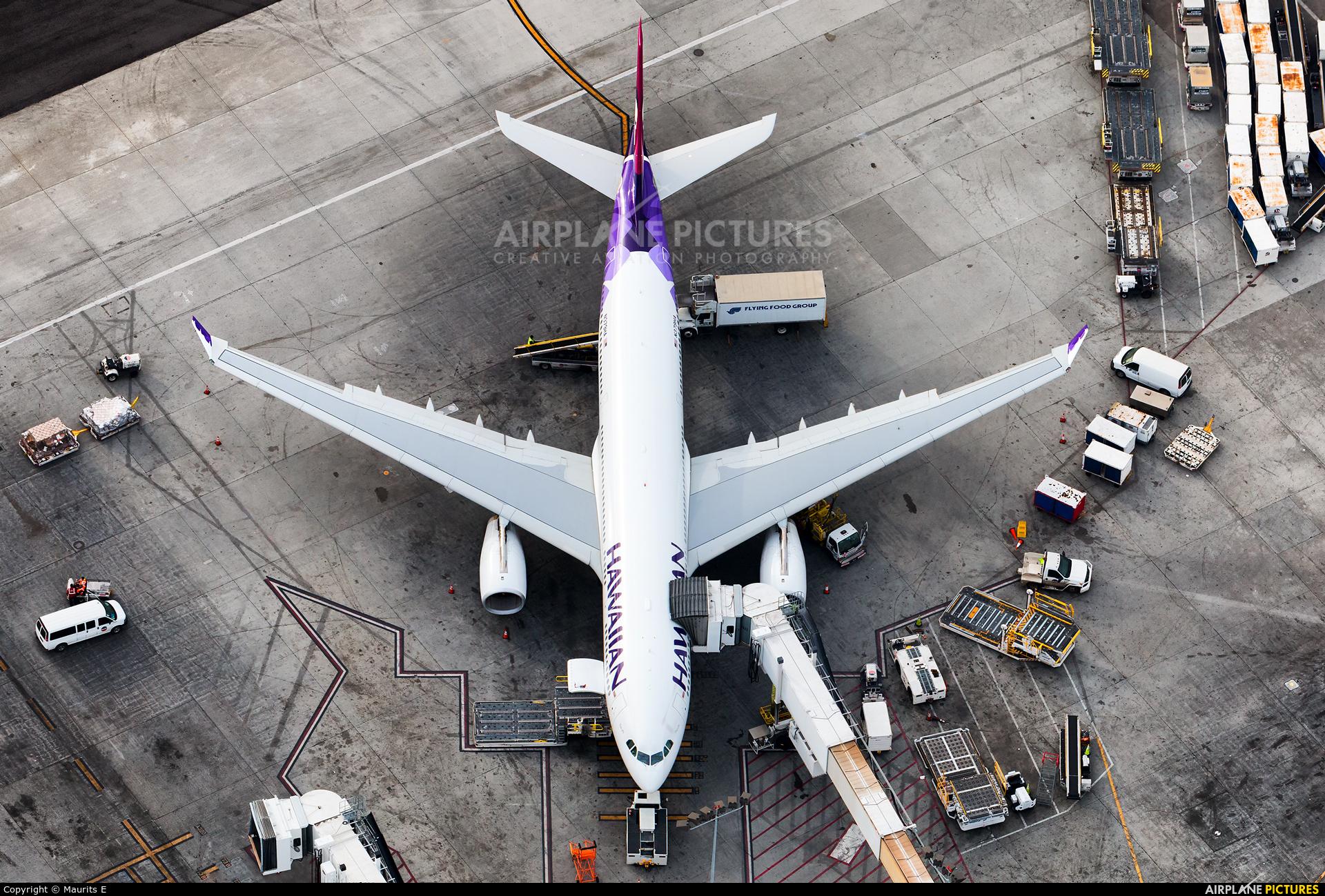 Hawaiian Airlines N379HA aircraft at Los Angeles Intl