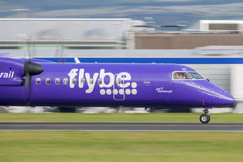 G-JEDT - Flybe de Havilland Canada DHC-8-400Q / Bombardier Q400