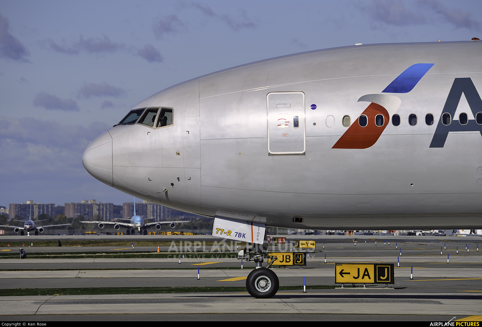 American Airlines N751AN aircraft at New York - John F. Kennedy Intl