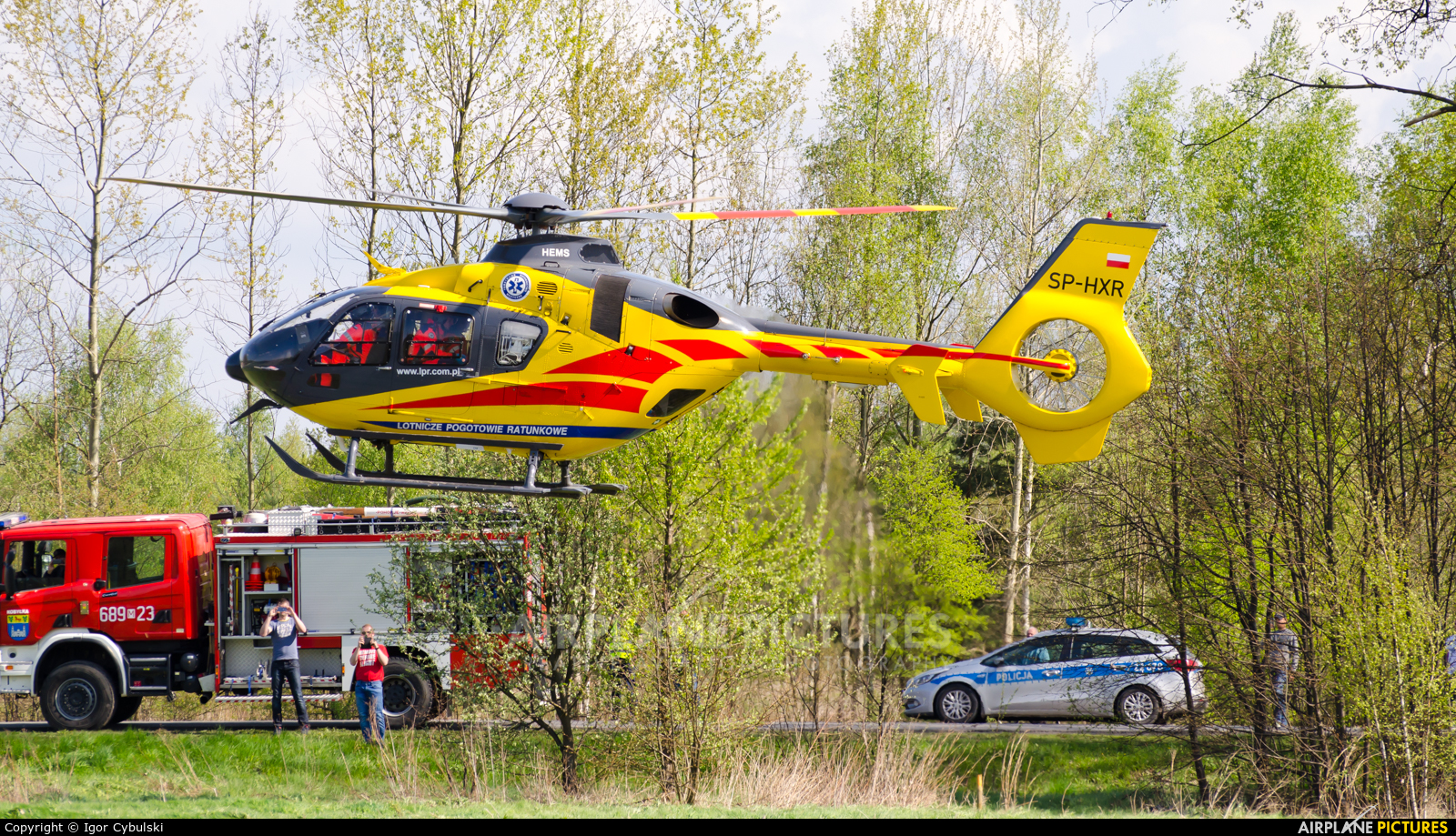 Polish Medical Air Rescue - Lotnicze Pogotowie Ratunkowe SP-HXR aircraft at Off Airport - Poland