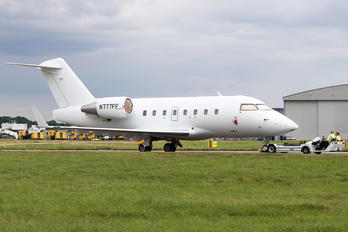 N777FF - Private Canadair CL-600 Challenger 604