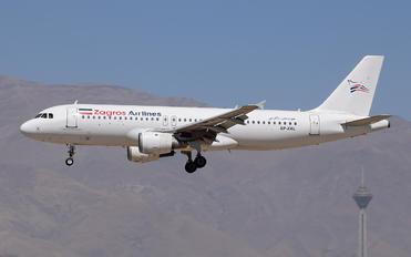 EP-ZAL - Zagros Air Airbus A320