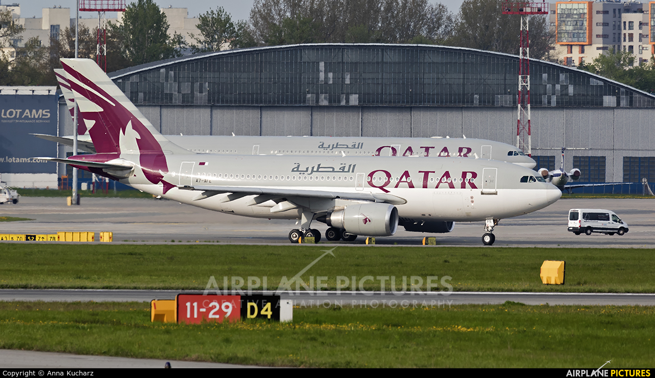Qatar Amiri Flight A7-AFE aircraft at Warsaw - Frederic Chopin