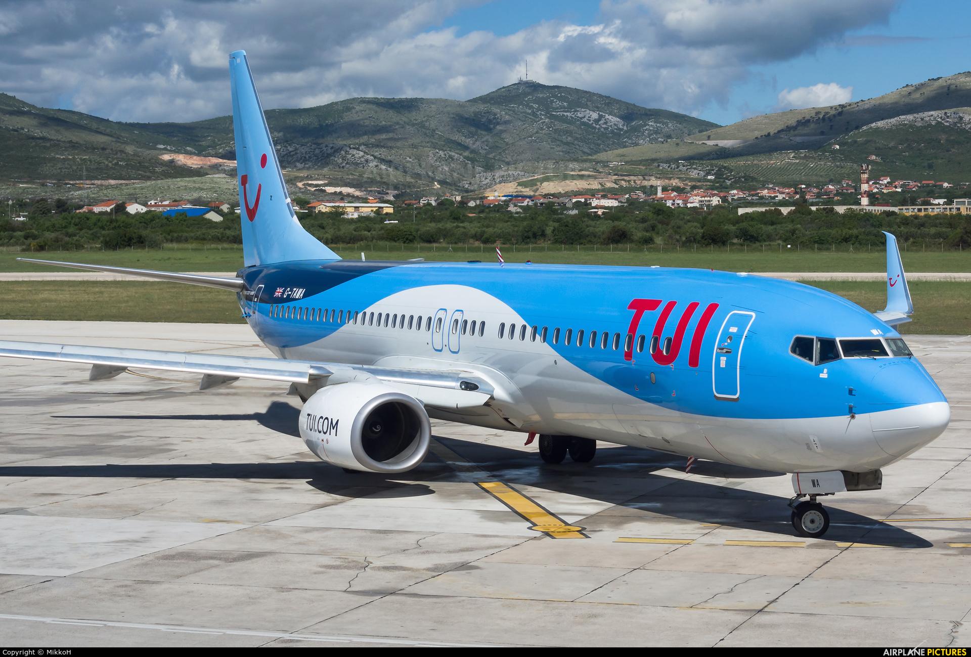 Boeing 737-800 tui