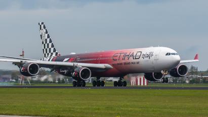 A6-EHJ - Etihad Airways Airbus A340-600