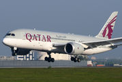 A7-BCS - Qatar Airways Boeing 787-8 Dreamliner aircraft