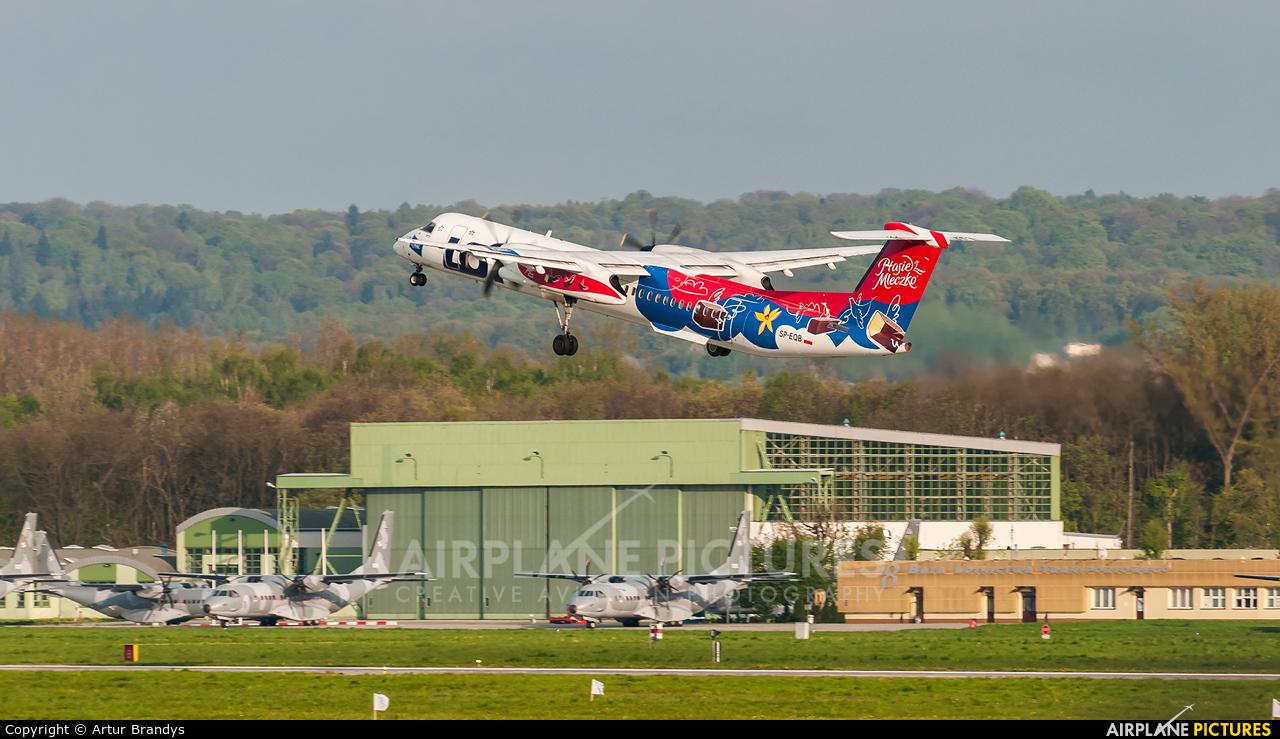LOT - Polish Airlines SP-EQB aircraft at Kraków - John Paul II Intl