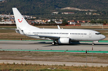 OO-JAL - TUI Airlines Belgium Boeing 737-700