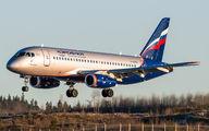 RA-89062 - Aeroflot Sukhoi Superjet 100 aircraft