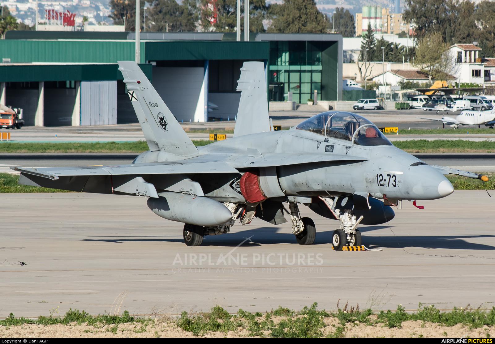 Spain - Air Force CE.15-10 aircraft at Málaga