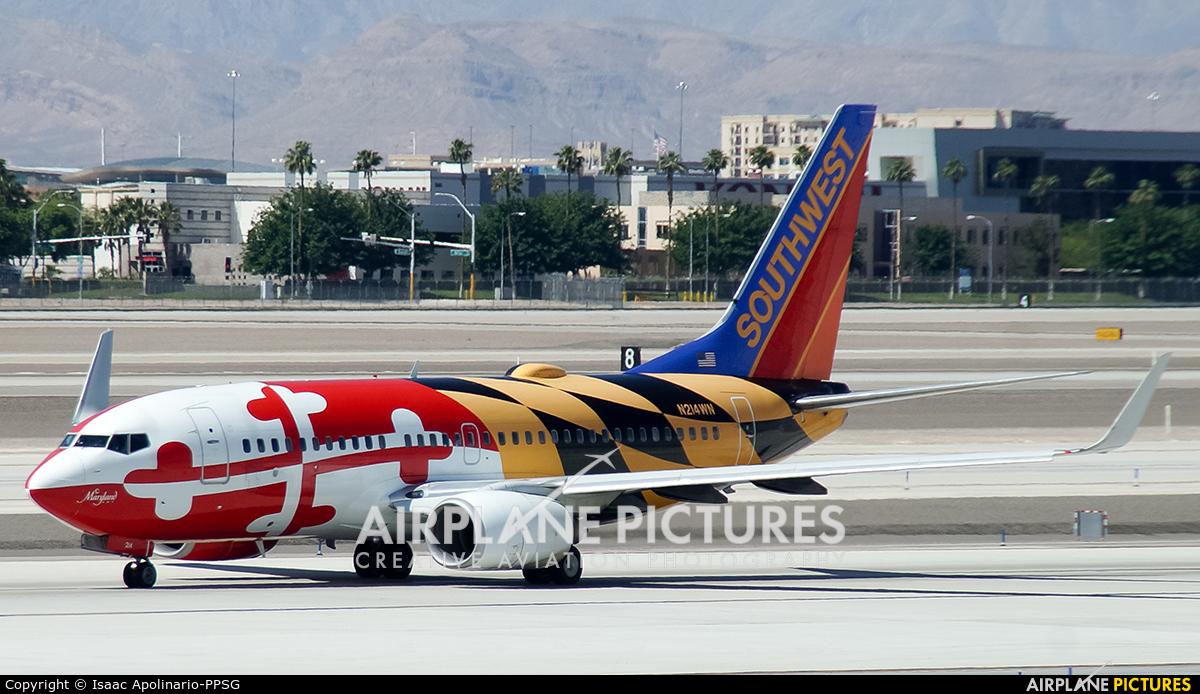Southwest Airlines N214WN aircraft at Las Vegas - McCarran Intl