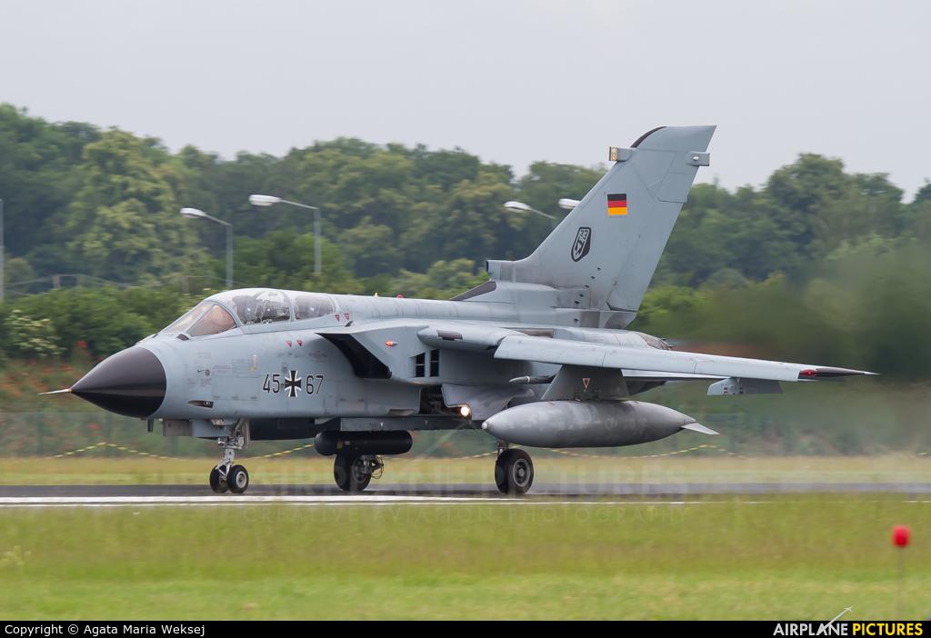 Germany - Air Force 45+67 aircraft at Neuburg - Zell