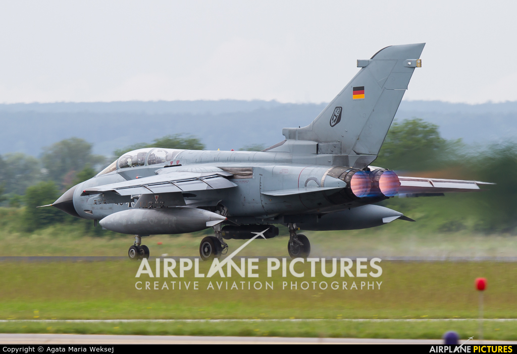 Germany - Air Force 45+67 aircraft at Neuburg - Zell