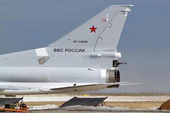 RF-34089 - Russia - Air Force Tupolev Tu-22M3
