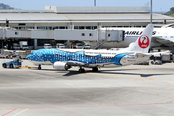 JA8939 - JAL - Japan Transocean Air Boeing 737-400