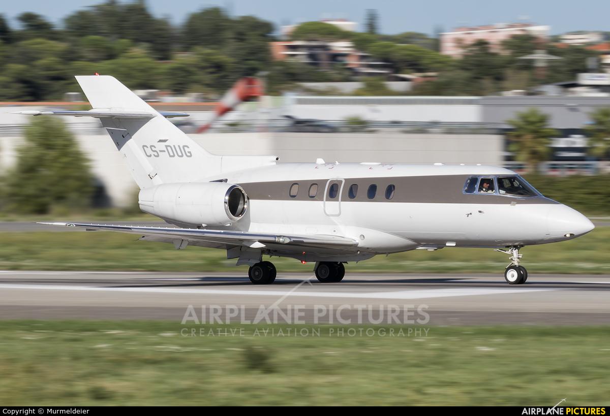 NetJets Europe (Portugal) CS-DUG aircraft at Cannes - Mandelieu