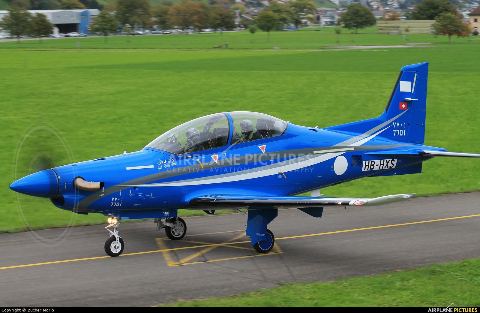 Saudi Arabia - Air Force HB-HXS aircraft at Buochs