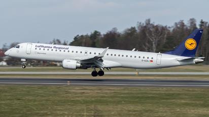 D-AEBJ - Lufthansa Regional - CityLine Embraer ERJ-190 (190-100)