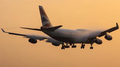 G-BNLD - British Airways Boeing 747-400