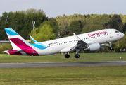 D-AEWU - Eurowings Airbus A320 aircraft