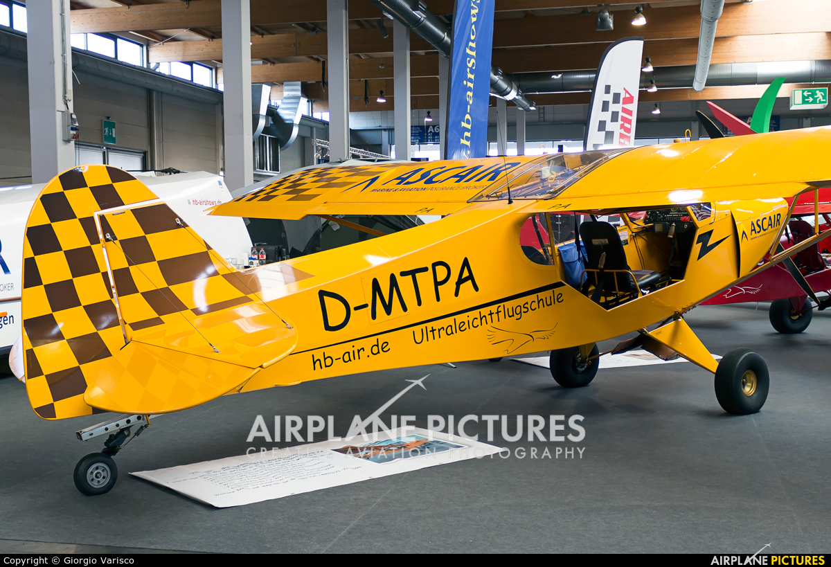Precision Air D-MTPA aircraft at Friedrichshafen