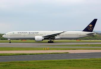 HZ-AK25 - Saudi Arabian Airlines Boeing 777-300ER