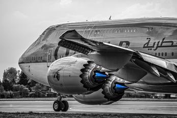 A7-HHE - Qatar Amiri Flight Boeing 747-8 BBJ