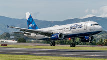 N641JB - JetBlue Airways Airbus A320 aircraft