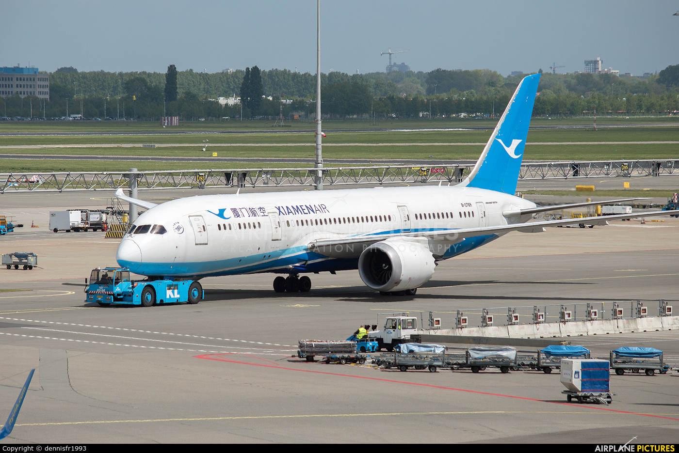 Xiamen Airlines B-2769 aircraft at Amsterdam - Schiphol