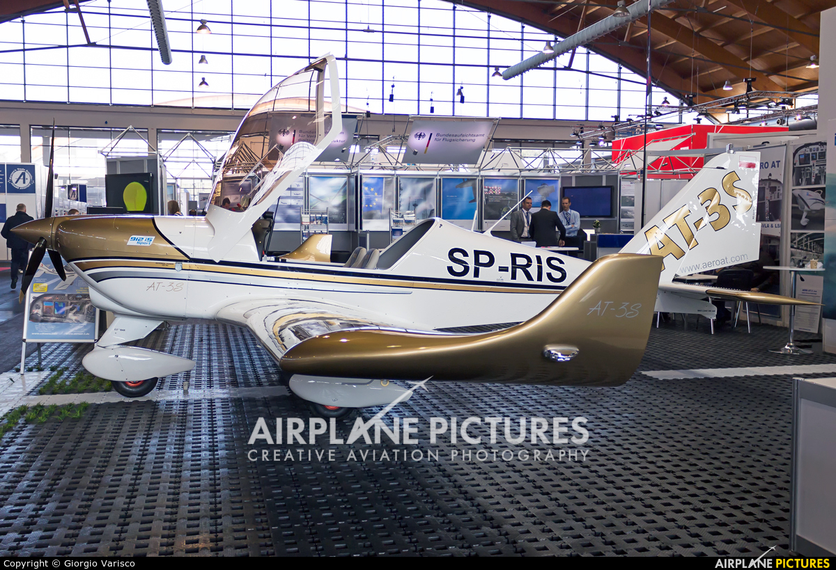 Private SP-RIS aircraft at Friedrichshafen