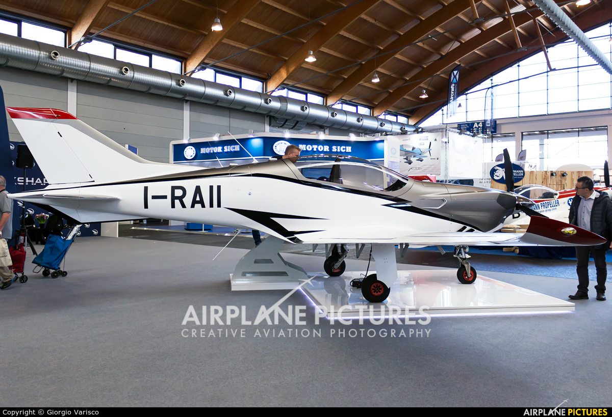 Private I-RAII aircraft at Friedrichshafen