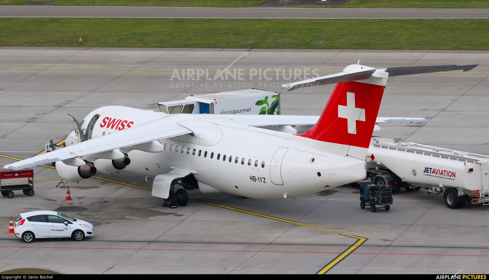 Swiss HB-IYZ aircraft at Zurich