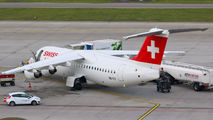 HB-IYZ - Swiss British Aerospace BAe 146-300/Avro RJ100 aircraft
