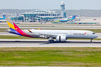 HL8078 - Asiana Airlines Airbus A350-900